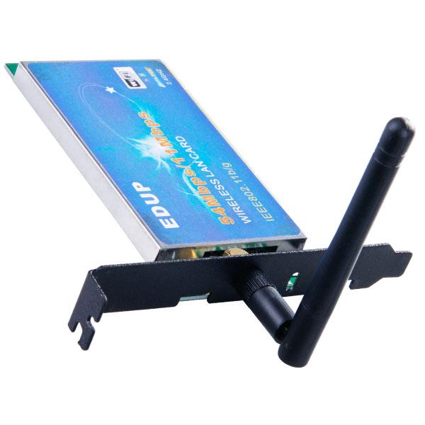 Details zu 54M WLAN PCI KARTE WiFi WIRELESS LAN ADAPTER 802.11b g
