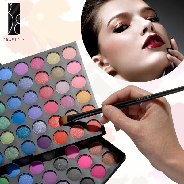 fraulein38 120 farben make up lidschatten eyeshadow. Black Bedroom Furniture Sets. Home Design Ideas