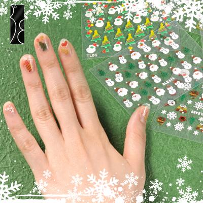 Fräulein 3º8 Mixed Design 3D Nail Art Stickers High quality for