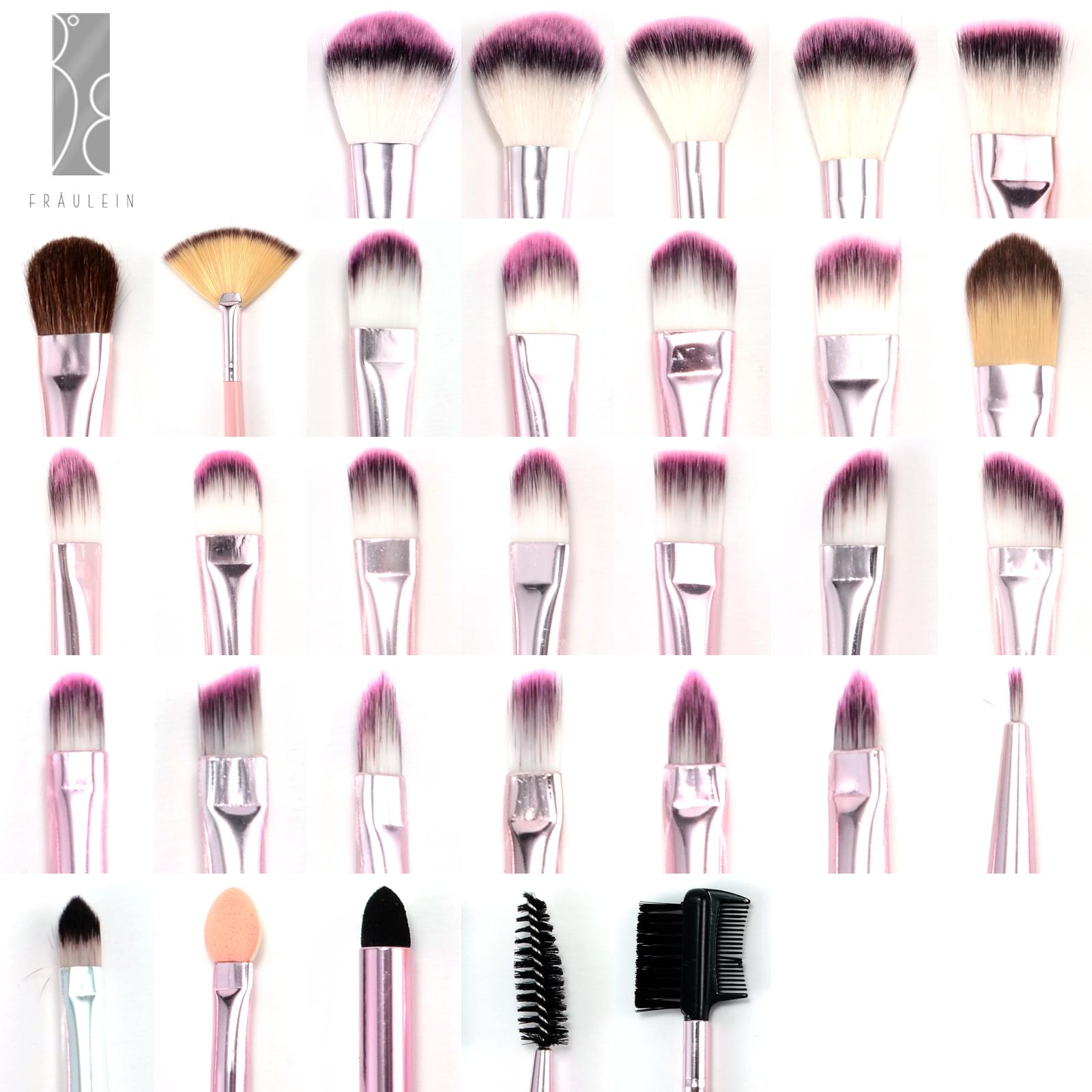31er pinselset make up pinsel set brush set b rste. Black Bedroom Furniture Sets. Home Design Ideas