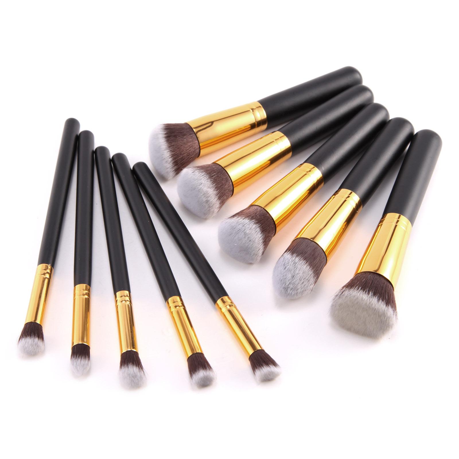 pinselset pinsel makeup set rundpinsel set brush set. Black Bedroom Furniture Sets. Home Design Ideas
