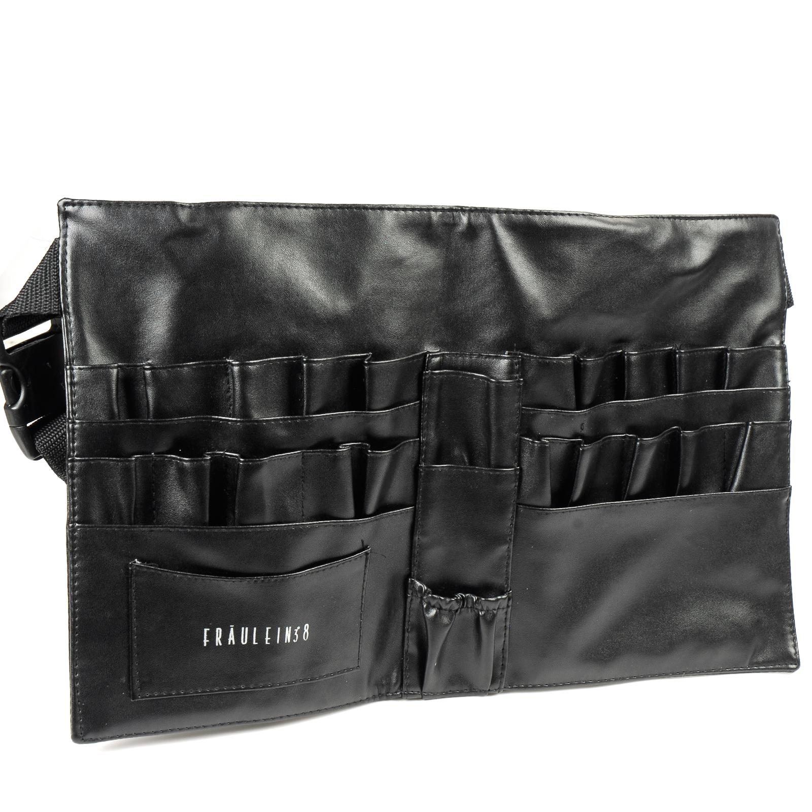 White half apron ebay - Fr Ulein 3 8 Make Up Brush Apron Toolbelt Tool Bag Belt