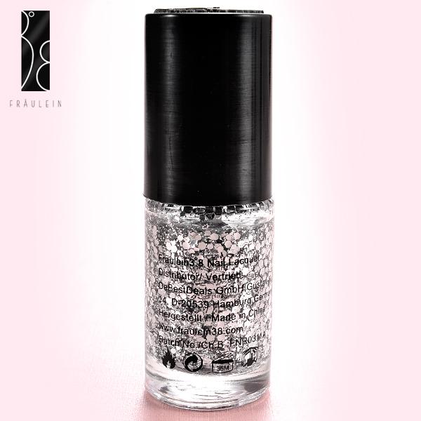 fraulein 38 glitzer nagellack nail polish farben ebay. Black Bedroom Furniture Sets. Home Design Ideas