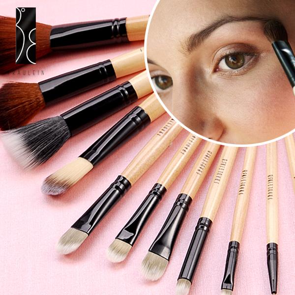 fraulein38 12teilig makeup pinsel set pinselset mit. Black Bedroom Furniture Sets. Home Design Ideas