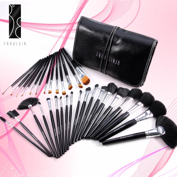 fr ulein38 profi 32teilig kosmetik makeup brush pinsel. Black Bedroom Furniture Sets. Home Design Ideas