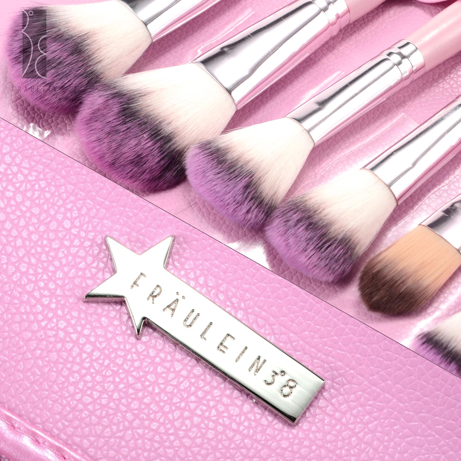 fr ulein 3 8 31tlg pinselset make up pinsel set brush kosmetik etui ebay. Black Bedroom Furniture Sets. Home Design Ideas